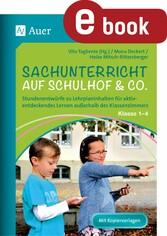 Sachunterricht auf Schulhof & Co. Klasse 1-4 - ...