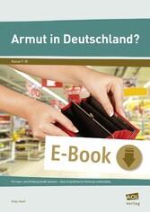 Armut in Deutschland? - Formen und Hintergründe...
