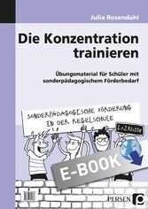 Die Konzentration trainieren - Übungsmaterial f...