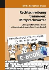 Rechtschreibung trainieren: Mitsprechwörter - Ü...