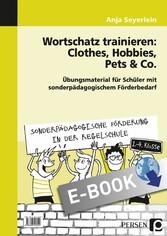 Wortschatz trainieren: Clothes, Hobbies, Pets &...