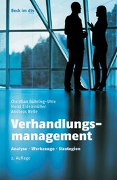 Verhandlungsmanagement - Analyse, Werkzeuge, St...