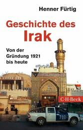 Geschichte des Irak - Von der Gründung 1921 bis...