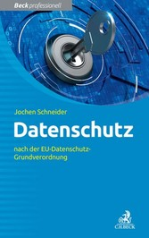 Datenschutz - nach der EU-Datenschutz-Grundvero...