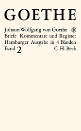 Goethes Briefe und Briefe an Goethe Bd. 2: Brie...