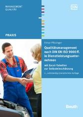 Qualitätsmanagement nach DIN EN ISO 9000 ff. in...