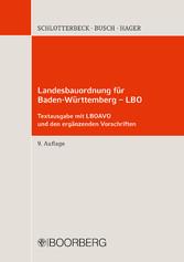 Landesbauordnung für Baden-Württemberg - LBO - ...