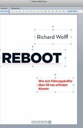 Reboot - Wie sich Führungskräfte über 50 neu er...