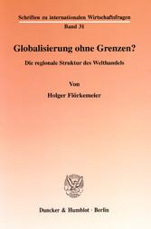 Globalisierung ohne Grenzen? - Die regionale St...