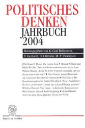 Politisches Denken. Jahrbuch 2004.