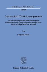 Contractual Trust Arrangements. - Die Finanzier...