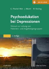 Psychoedukation bei Depressionen - Manual zur L...