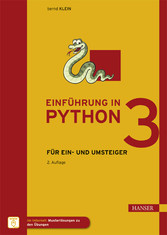 Einführung in Python 3 - Für Ein- und Umsteiger