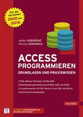 Access programmieren - Grundlagen und Praxiswis...