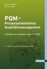 PQM - Prozessorientiertes Qualitätsmanagement -...