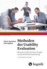 Methoden der Usability Evaluation - Wissenschaf...