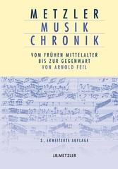 Metzler Musik Chronik - Vom frühen Mittelalter ...