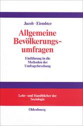 Allgemeine Bevölkerungsumfragen - Einführung in...