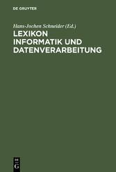 Lexikon Informatik und Datenverarbeitung