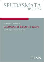 La Rudens di Plauto in teatro - Tra filologia e...