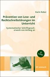 Prävention von Lese- und Rechtschreibstörungen ...