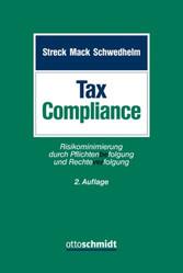 Tax Compliance - Risikominimierung durch Pflich...