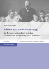 Johann Karl Vietor (1861-1934) - Ein deutscher ...