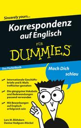 Korrespondenz auf Englisch für Dummies Das Pock...
