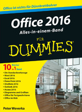 Office 2016 für Dummies Alles-in-einem-Band