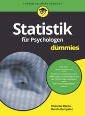 Statistik für Psychologen für Dummies