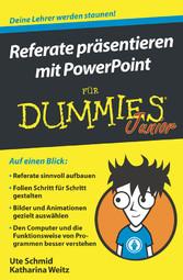 Referate präsentieren mit PowerPoint für Dummie...