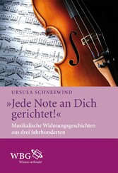 Jede Note an Dich gerichtet! - Musikalische Wid...