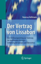 Inhaltsverzeichnis Von Der Vertrag Von Lissabon Vom