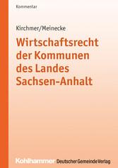 Wirtschaftsrecht der Kommunen des Landes Sachse...