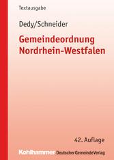 Gemeindeordnung Nordrhein-Westfalen - Textausgabe
