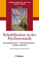 Rehabilitation in der Psychosomatik - Versorgun...