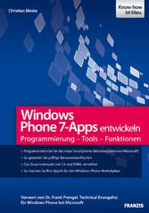 Windows Phone 7-Apps entwickeln - Programmierun...