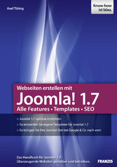 Webseiten erstellen mit Joomla! 1.7 - Alle Feat...
