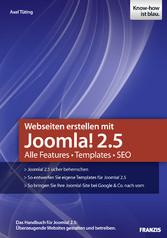 Webseiten erstellen mit Joomla! 2.5 - Alle Feat...