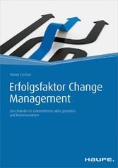 Erfolgsfaktor Change Management - Den Wandel im...