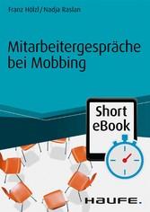 Mitarbeitergespräche bei Mobbing
