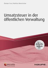 Umsatzsteuer in der öffentlichen Verwaltung - i...
