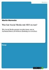 Was hat Social Media mit SEO zu tun? - Wie Soci...