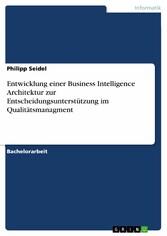 Entwicklung einer Business Intelligence Archite...