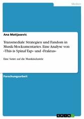 Transmediale Strategien und Fandom in Musik-Moc...