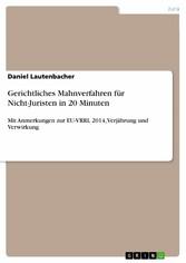 Gerichtliches Mahnverfahren für Nicht-Juristen ...