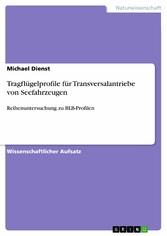 Tragflügelprofile für Transversalantriebe von S...