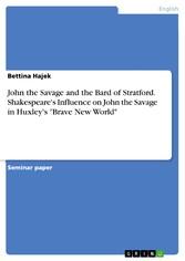 John the Savage and the Bard of Stratford. Shak...