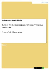 Rise of women entrepreneurs in developing count...