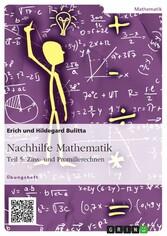 Nachhilfe Mathematik - Teil 5: Zins- und Promil...